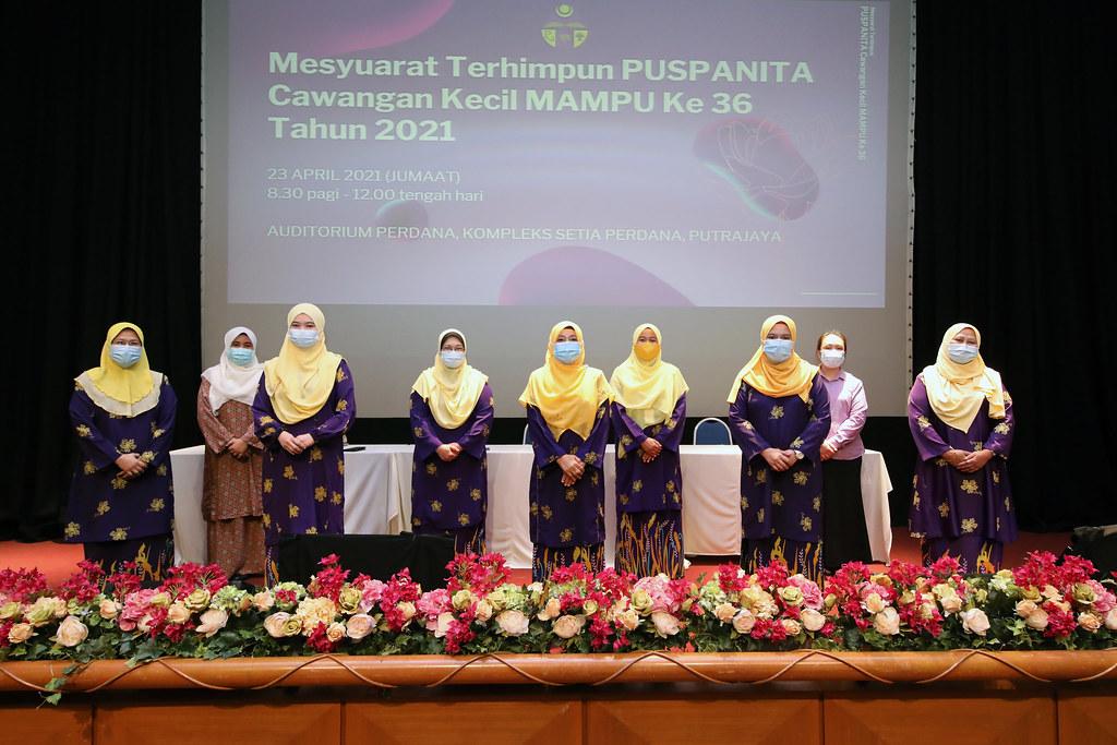 April 23, 2021- 36th MAMPU Sub-Branch PUSPANITA Assembly Meeting 2021